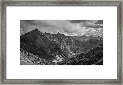 High Country Valley Framed Print