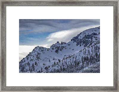 High Country Winter Framed Print by Mitch Shindelbower