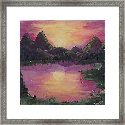 High Definition  Framed Print by Lori Lafevers