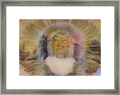 High Desert Native Framed Print