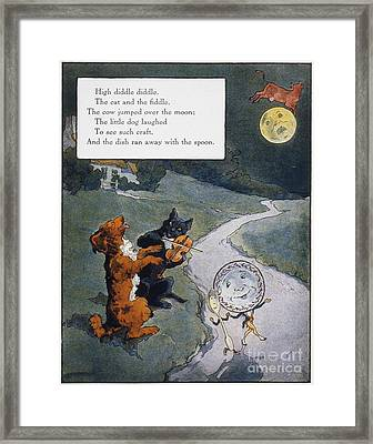 High Diddle Diddle Framed Print
