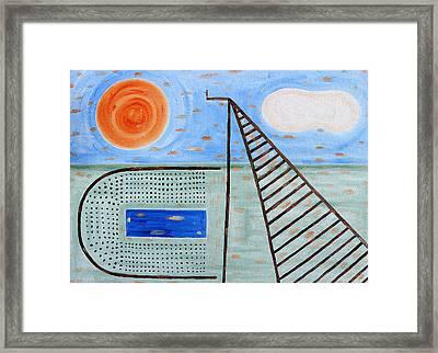 High Dive Framed Print by Patrick J Murphy