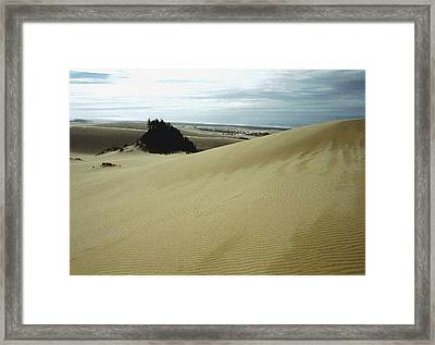 High Dunes 1 Framed Print