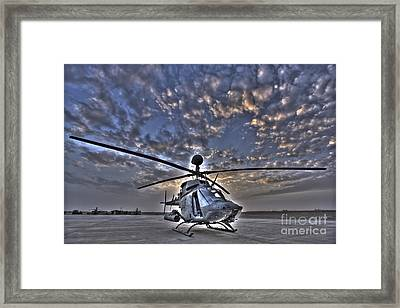 High Dynamic Range Image Framed Print