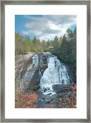High Falls-dupont State Park Framed Print