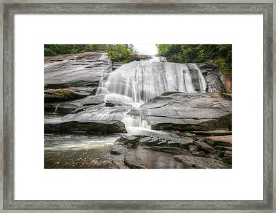 High Falls Of Dupont State Forest Framed Print