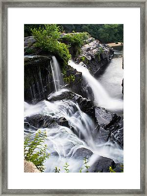 High Falls Park Framed Print