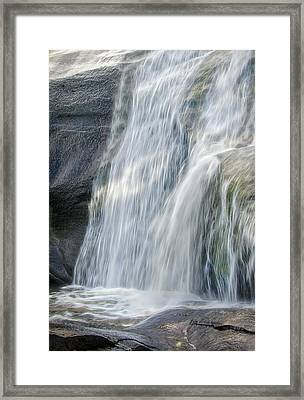 Framed Print featuring the photograph High Falls Three by Steven Richardson