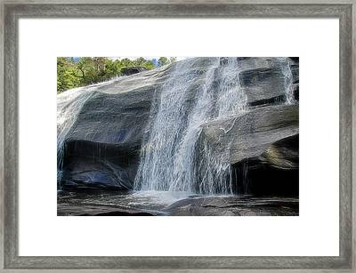 Framed Print featuring the photograph High Falls Two by Steven Richardson