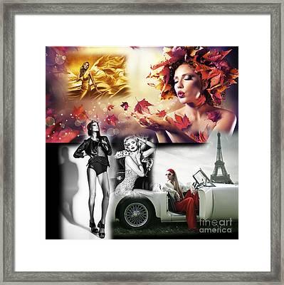 High Fashion Framed Print by John Rizzuto