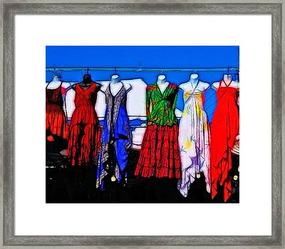 High Fashion Framed Print by Tim Coleman