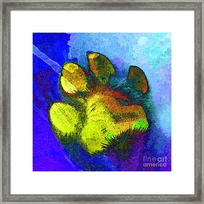 High Five Framed Print by Stacey Chiew