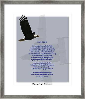 High Flight Framed Print