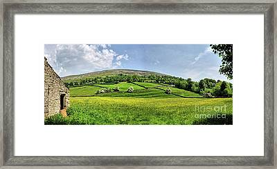High Fremington Framed Print