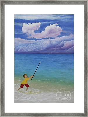 High Hopes Framed Print by Cindy Lee Longhini