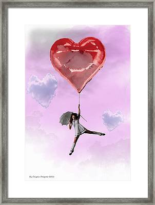High In Love Framed Print by Crispin  Delgado