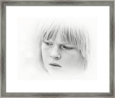 High Key Framed Print by Michel Verhoef