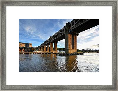 High Level Bridge Framed Print