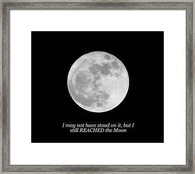 High Moon Framed Print