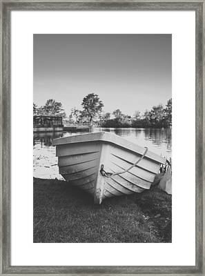 High N' Dry Framed Print