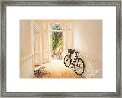 High Nellie Framed Print by Vanda Luddy