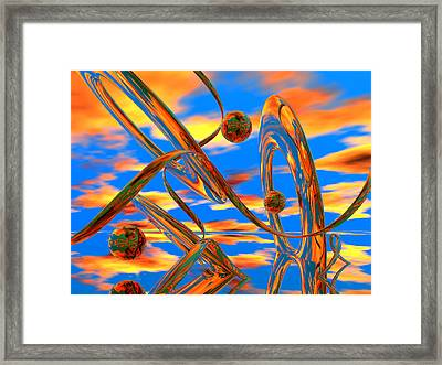 High Noon Framed Print by Scott Piers
