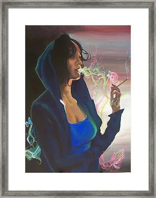 High On Life Framed Print by Lauren Penha