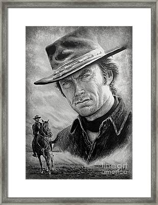 High Plains Drifter Framed Print by Andrew Read