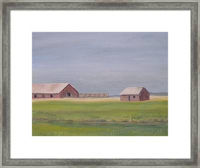 High Plains Framed Print by Patricia Caldwell
