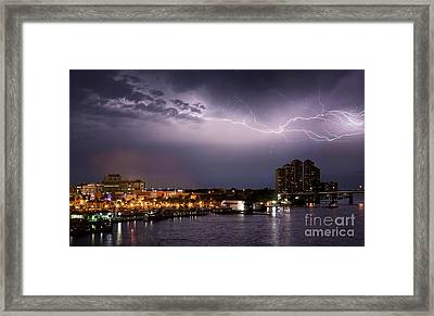 High Point Place Nights Framed Print by Quinn Sedam