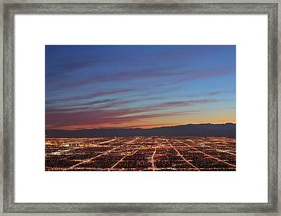 High Points - Frenchman Mountain Framed Print