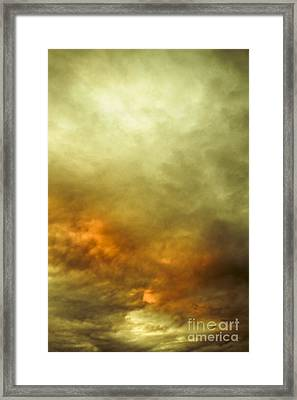 High Pressure Skyline Framed Print by Jorgo Photography - Wall Art Gallery