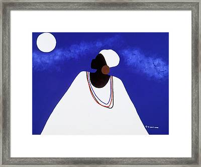 High Priestess I Framed Print