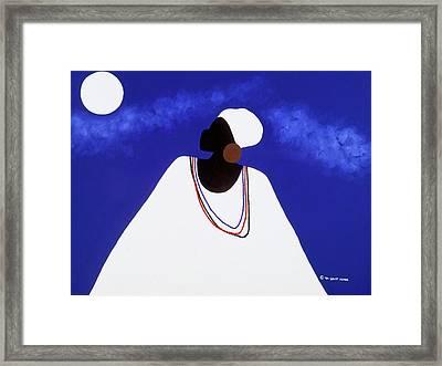 High Priestess I Framed Print by Synthia SAINT JAMES