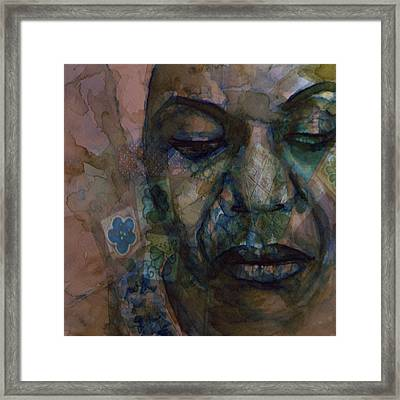 High Priestess Of Soul  Framed Print by Paul Lovering