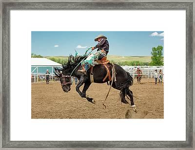 High Ride Framed Print
