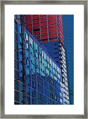 High Rise Framed Print by Gillis Cone
