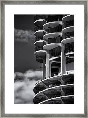 High Rise Living Framed Print by Andrew Soundarajan