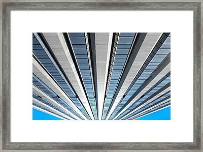 High Rising Framed Print by Dan Holm