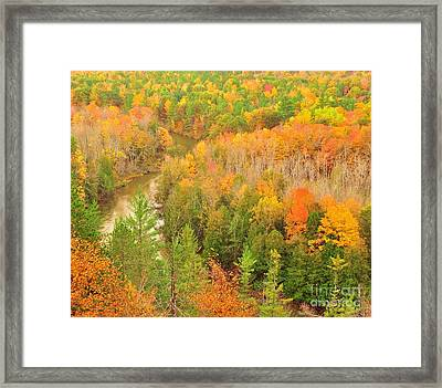 High Rollaways River Bend Framed Print