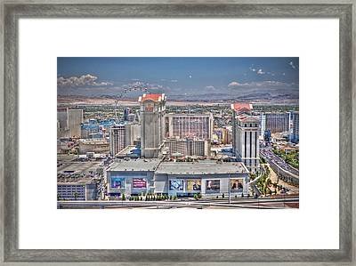 High Roller - Day Framed Print
