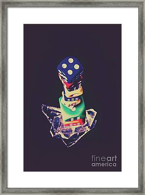 High Roller Luck Framed Print by Jorgo Photography - Wall Art Gallery