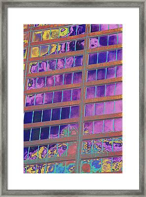 High Roller Suites At The Flamingo Hotel Framed Print by Richard Henne