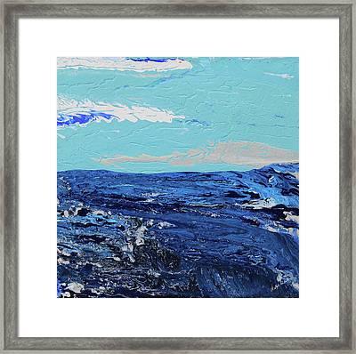 High Sea Framed Print