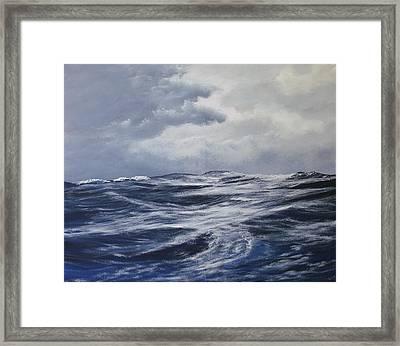 High Seas  Framed Print by Dj Khamis