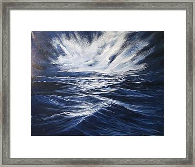 High Seas II Framed Print by Dj Khamis