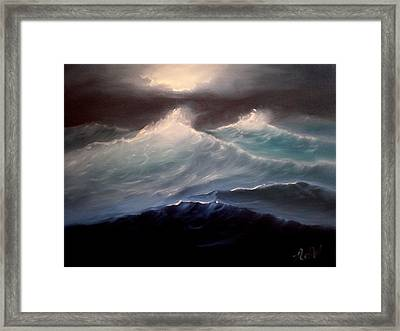 High Seas Framed Print