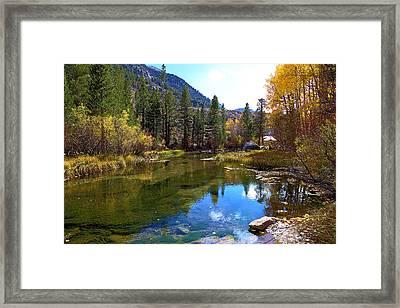 High Sierra Bishop Creek Framed Print