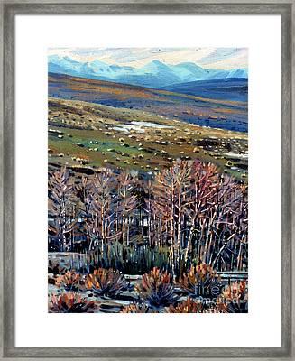 High Sierra Framed Print by Donald Maier