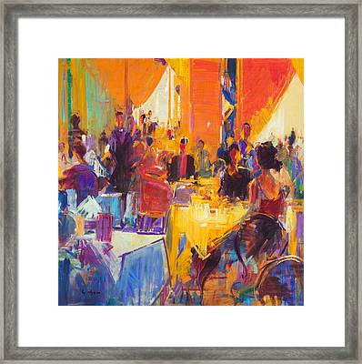 High Society Framed Print by Peter Graham